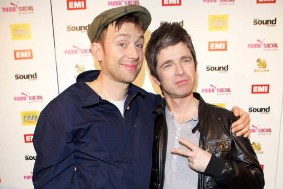 2014DamonAlbarn_NoelGallagher_Getty139472531270314