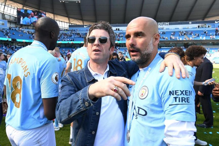 Noel Gallagher, Pep Guardiola