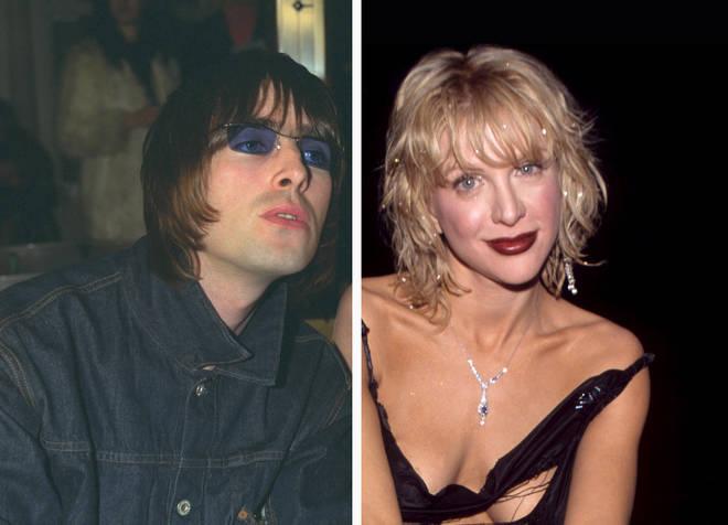 Liam Gallagher, Courtney Love