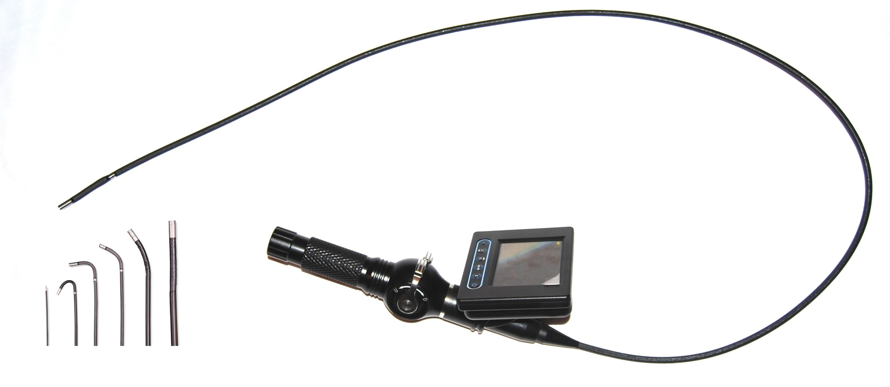"4-way Articulating 6mm Borescope System with 3.5"" LCD"