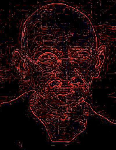 Gandhi Computer Art: Oasis Thacker