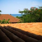 Troncones Treehouse rooftop ocean view