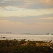 Huge summer surf swell in Troncones
