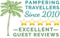 Guest reviews button - Casa Oasis Troncones rated excellent