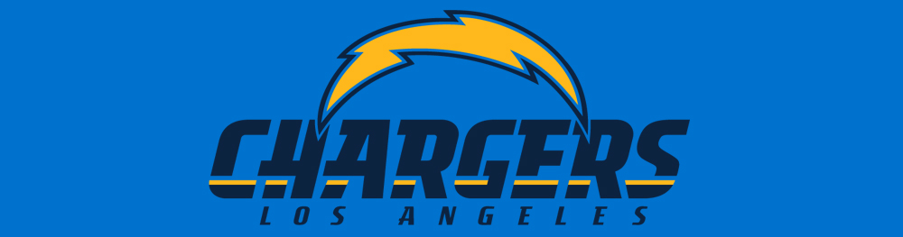 los angeles chargers flag