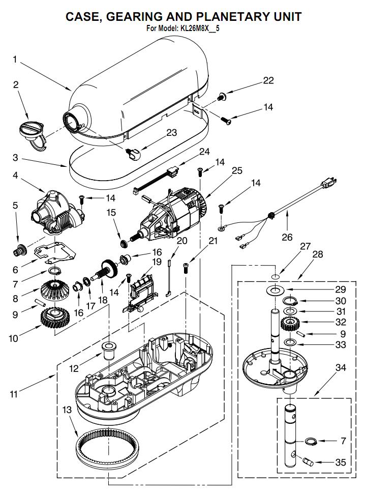 kitchen schematic diagram
