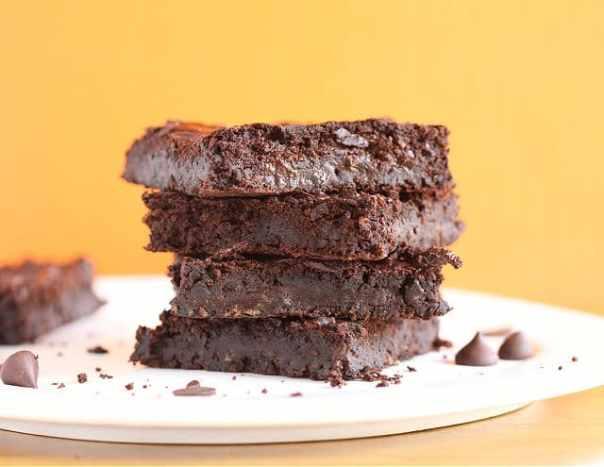 dinner Healthy vegan black bean brownies recipe