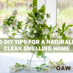 20 DIY TIPS FOR A NATURALLY CLEAN SMELLING HOME