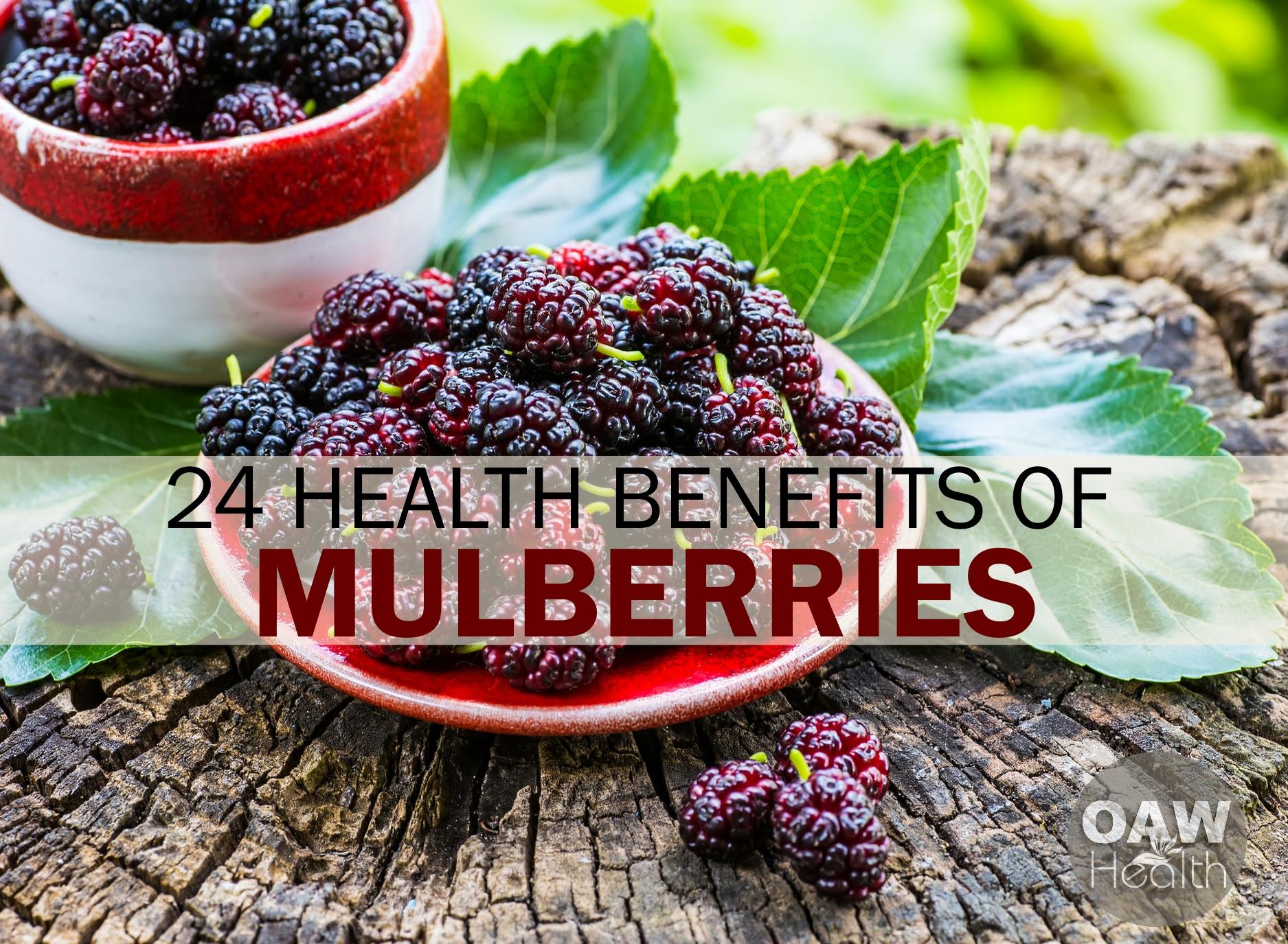24 Outstanding Health Benefits of Mulberries