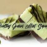 healthy junior mint squares recipe