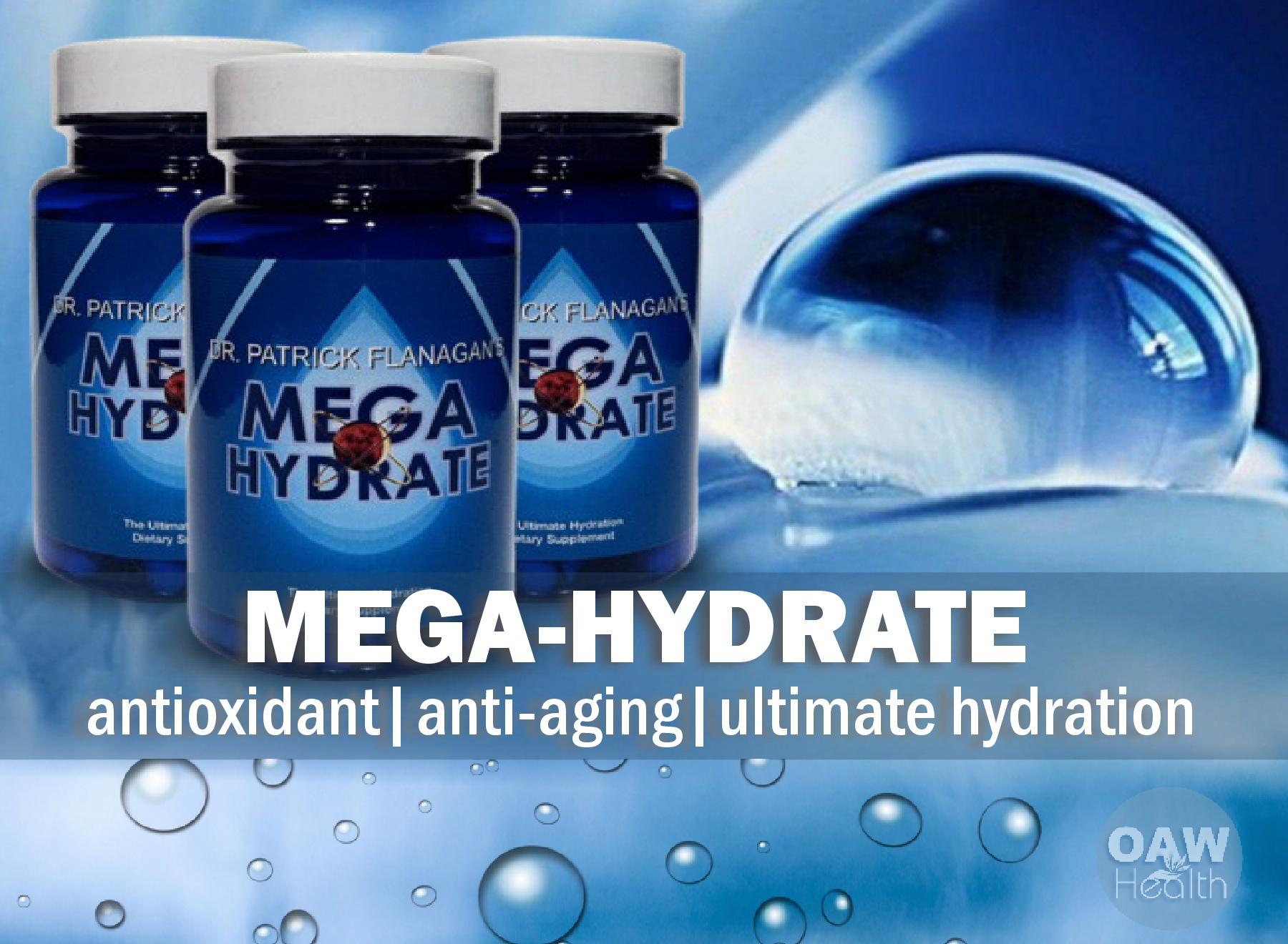 MegaHydrate – Antioxidant, Anti-Aging & Hydration Benefits