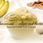 banana almond butter icecream recipe
