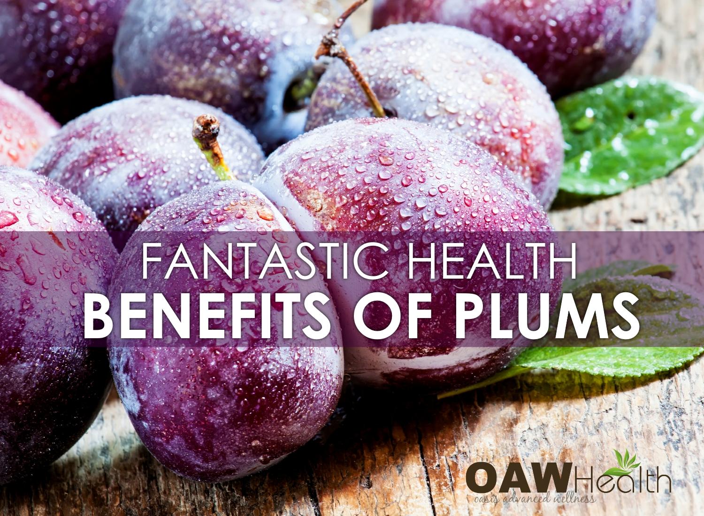 Fantastic Health Benefits of Plums