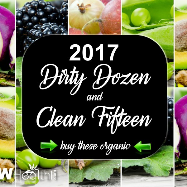2017 Dirty Dozen-Clean Fifteen Veggies-Fruits