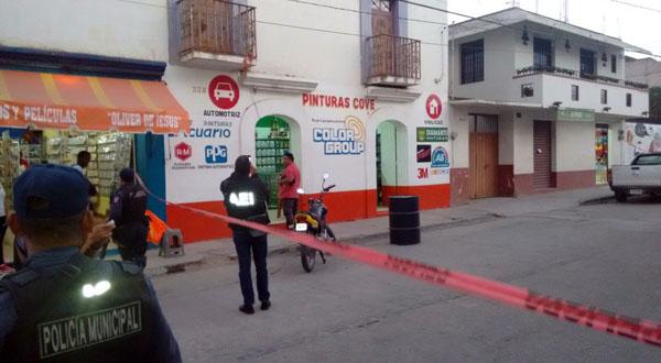 Alarma inseguridad en Miahuatlán, asesinan a empresario