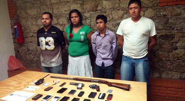 Detienen célula delictiva en Ocotlán