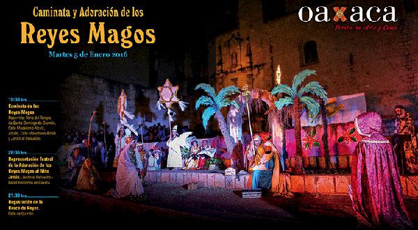 """Oaxaqueños y visitantes disfrutarán de la tradicional""""Caminata y Adoración de los Reyes Magos"""""""