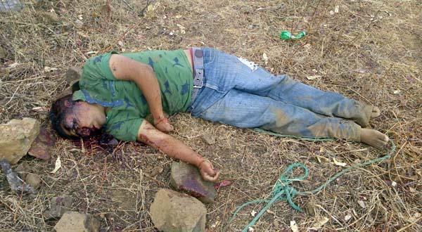 Localizan cuerpo de persona asesinada a pedradas