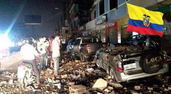 Suman 77 los muertos por sismo en Ecuador