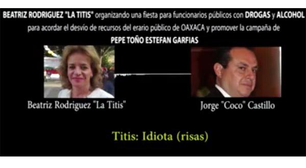 Ulises Ruiz cumple su amenaza: va con todo contra Alejandro Murat.- Alberto Unda