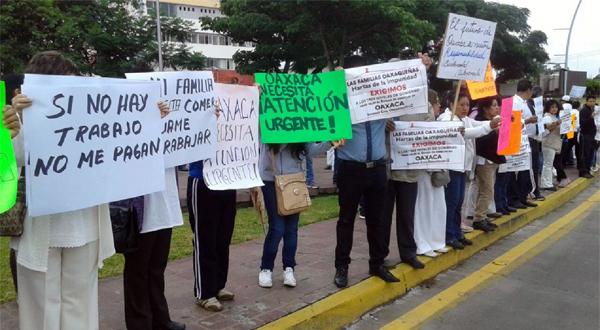 protesta empresarios