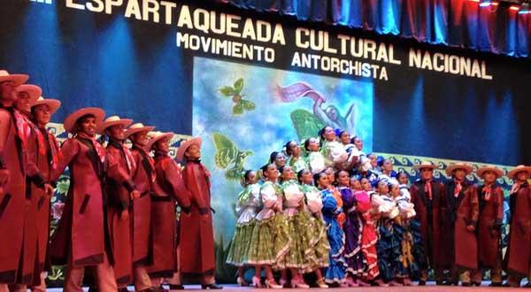Alistan la XIX Espartaqueada Cultural Nacional