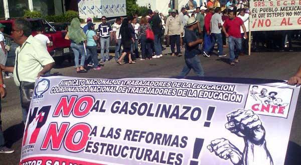 Gasolinazo y protesta social. Tercera y última parte