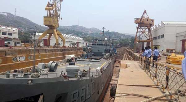 Astillero de Marina 112 años de servicio naval