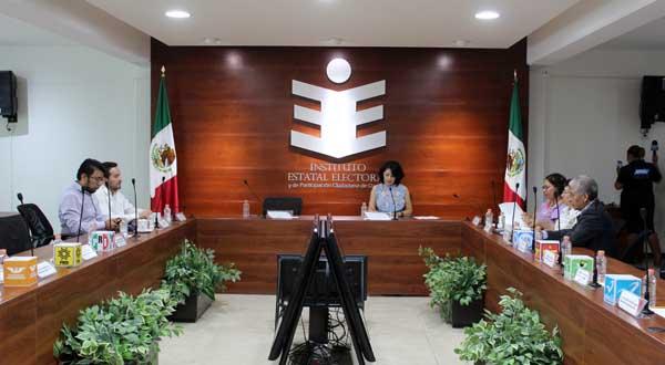 IEEPCO e INE estrechan coordinación para organizar las elecciones 2018