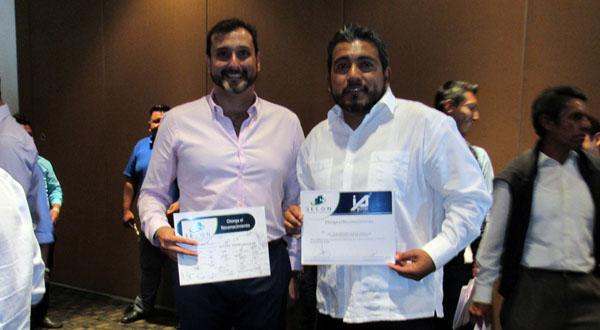 Inmobiliaria Aguilar y SECON, reconocen el trabajo del ayuntamiento de Santa Cruz Xoxocotlán