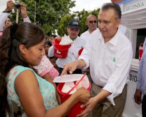 Oaxaca, la segunda entidad con más lecherías Liconsa en todo el país