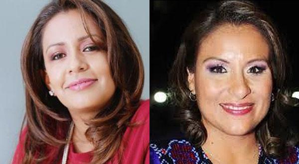 Karina Barón y Mariana Benítez, desatadas