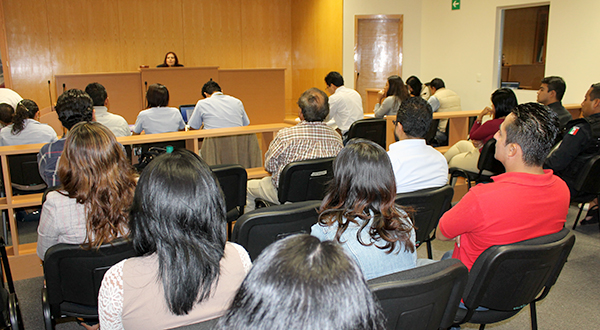 Convoca poder judicial a curso sobre el sistema penal acusatorio