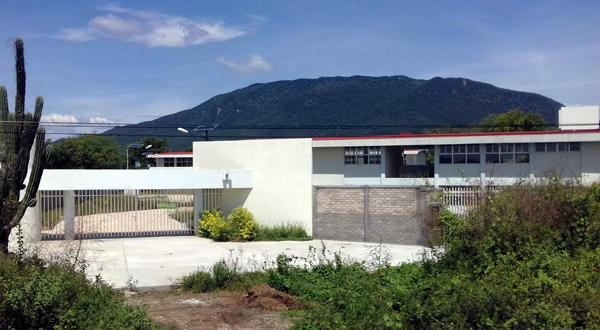 Nuevas instalaciones del Conalep aún sin funcionar