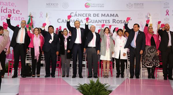 Marca ISSSTE la pauta a escala nacional en la reducción de mortalidad por cáncer de mama