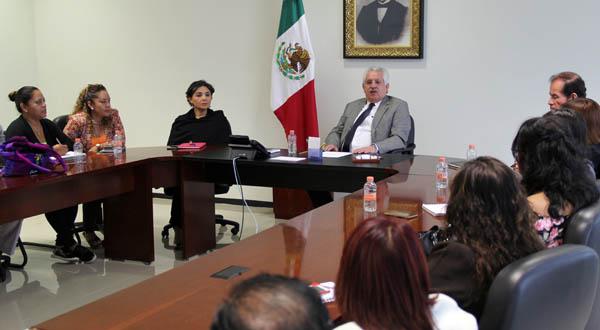 Refrenda Bolaños Cacho su apertura al diálogo con sindicatos del Poder Judicial