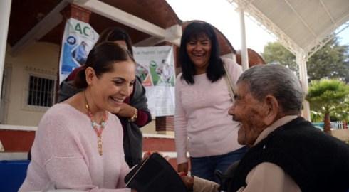 Personas Adultas Mayores, las más beneficiadas en Jornada ACO de San Luis Beltrán