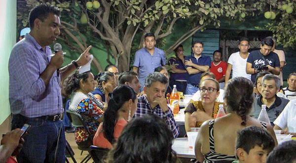 Tenemos un PRI unido y fuerte en Tehuantepec: Daniel Orozco