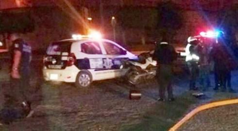 Sufre accidente en la carretera a Mariscala de Juárez