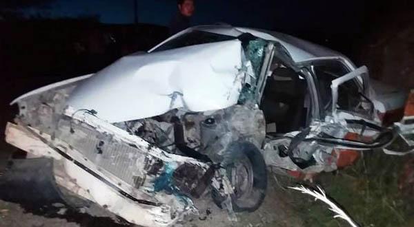 Un lesionado y pérdida total de un vehículo deja accidente en Huajuapan