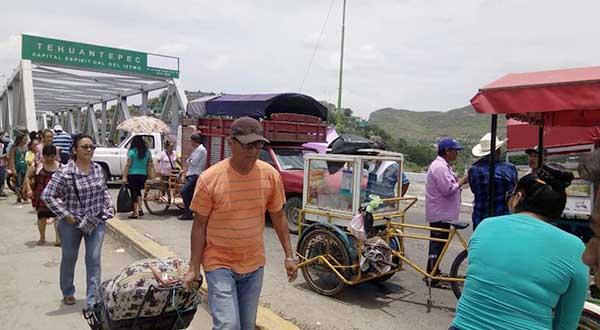 Levantan bloqueo habitantes de San Blas Atempa
