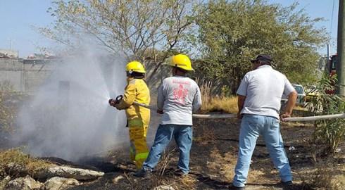 Incendios incontrolables en Salina Cruz