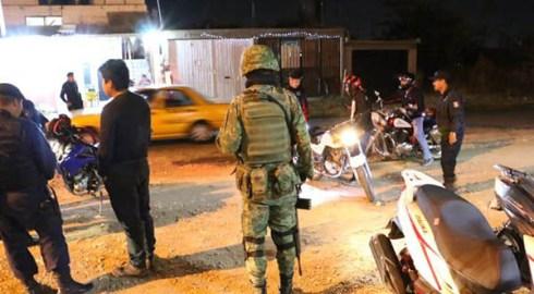 Municipio capitalino, Ejército y policías federal y estatal despliegan operativo conjunto