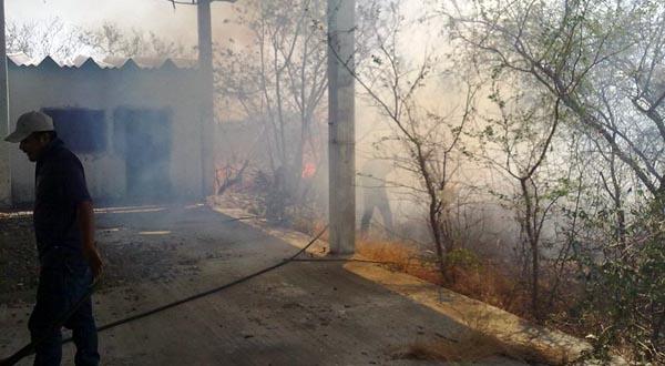 Incendio puso en riesgo a hospital