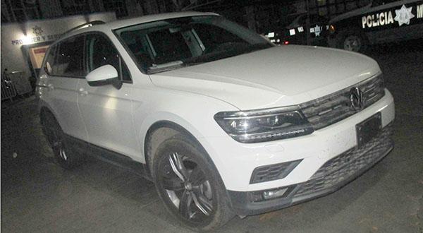 Policía Municipal recupera vehículo con reporte de robo