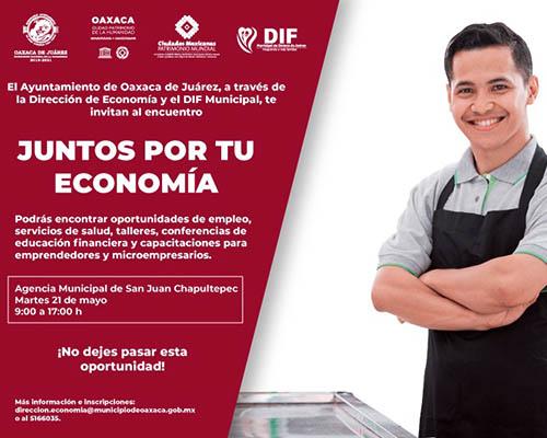 """Llegará a San Juan Chapultepec el encuentro """"Juntos por tu economía y bienestar"""""""