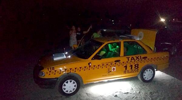 En aumento los robos con violencia a taxistas