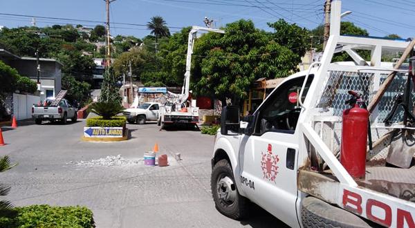 Siguen los apagones en Salina Cruz