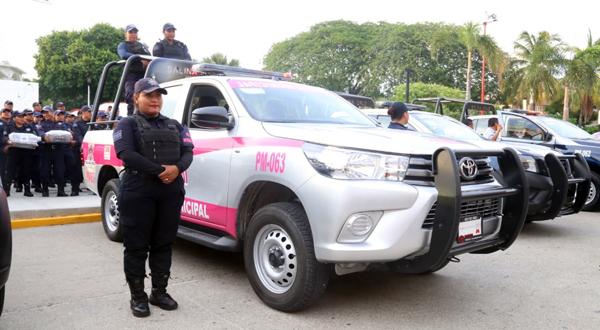 Combaten la violencia de género con patrulla especializada