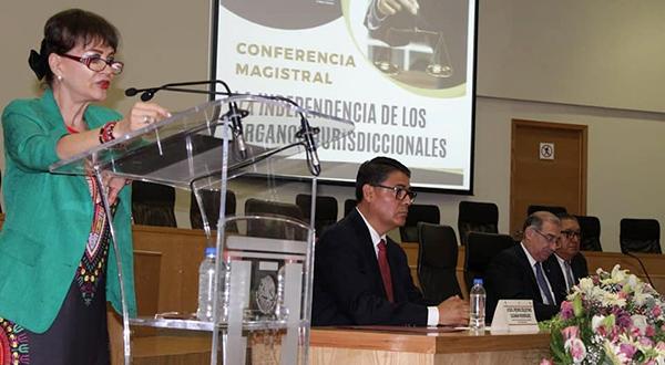 Tiempos actuales demandan poderes judiciales con independencia judicial